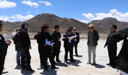 边巴次仁调研格桑塘现代农牧产业示范园项目